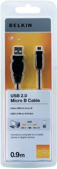 Belkin F3U151CP0.9M USB cable