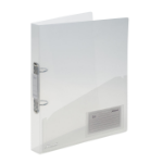 Rexel Ice 2 A4 Clear ring binder