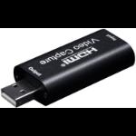 Microconnect MC-GEN-CH USB graphics adapter 3840 x 2160 pixels Black