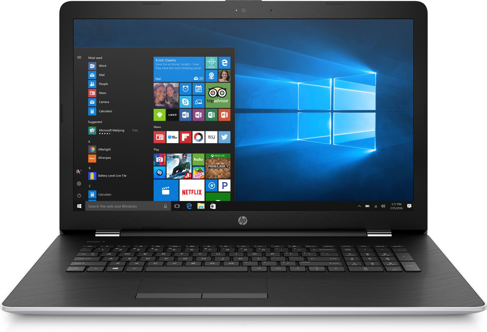Hp 17 bs100na 2qf85ea abu core i5 8250u 8gb 2tb dvdrw 17 for R value of windows comparison