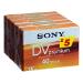 Sony 5-Pack MiniDV Premium Cassette Tape