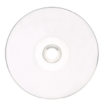 Verbatim CD-R 80MIN 700MB 52X White Thermal Printable, Hub Printable 100pk Spindle CD-R 700MB 100pcs