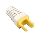 Black Box EZ-RJ45 Cat6 cable boot Yellow 25 pc(s)