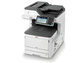 OKI MC853DNCT MFP 4 in 1 A3 Colour Networked 2nd Tray and Cabinet