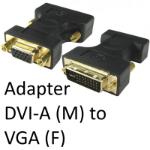 DVI-A (M) to VGA (F) Black Adapter