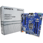 Gigabyte MX31-BS0 (rev. 1.1) Intel C232 LGA 1151 (Socket H4) Micro ATX server-/werkstationmoederbord