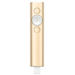 Logitech Spotlight wireless presenter Bluetooth Gold