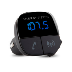 Energy Sistem EY-424313 87.5 - 108MHz Bluetooth Negro transmisor FM dir