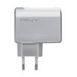 PNY P-AC-2UF-SEU01-RB Indoor White mobile device charger