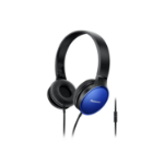 Panasonic RP-HF300ME-A mobile headset Binaural Head-band Black, Blue Wired