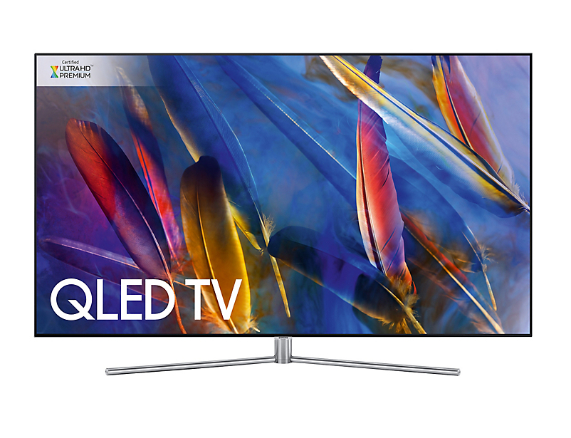"Samsung Q7F QE75Q7FAMTXXU TV 190.5 cm (75"") 4K Ultra HD Smart TV Wi-Fi Silver"