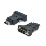 Digitus AK-320500-000-S cable interface/gender adapter DVI HDMI Black