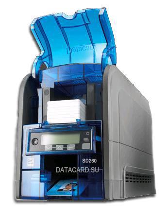 DataCard SD260 Colour Blue,Grey plastic card printer