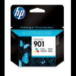 HP 901 Origineel Cyaan, Magenta, Geel Normaal rendement
