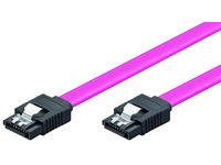 Microconnect SAT15003C SATA cable 0.3 m Violet