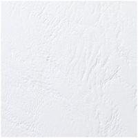 GBC LeatherGrain Binding Covers 250gsm A5 White (100)