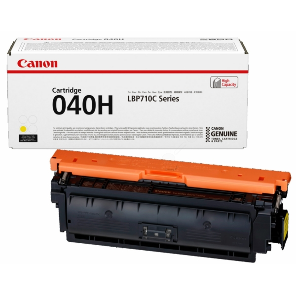 Canon 0455C001 (040 HY) Toner yellow, 10K pages