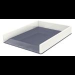 Leitz 53611001 desk tray/organizer Polystyrene Metallic, White