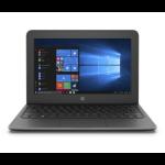 """HP Stream 11 Pro G5 Notebook 29.5 cm (11.6"""") 1366 x 768 pixels Intel® Celeron® 4 GB DDR4-SDRAM 64 GB eMMC Wi-Fi 5 (802.11ac) Windows 10 Home Grey"""