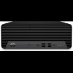 HP EliteDesk 805 G6 4650G SFF AMD Ryzen 5 PRO 8 GB DDR4-SDRAM 256 GB SSD Windows 10 Pro PC Black