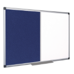 Bi-Office XA0322170 insert notice board Indoor Blue,White Aluminium