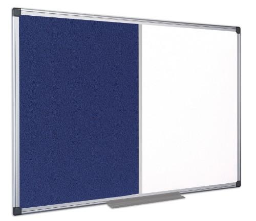 Bi-Office XA0322170 insert notice board Indoor Blue, White Aluminium