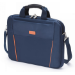 Dicota 13.3-Inch Top Loading Lockable Cushioned Notebook Briefcase - Blue/Orange - (D30995)