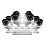 Swann NVR8-7285 8 Channel High Definition 1080p Network Video Recorder and 8 x NHD-810 Cameras CCTV KIT