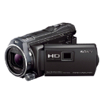 Sony PJ810 Handycam® with built-in Projector