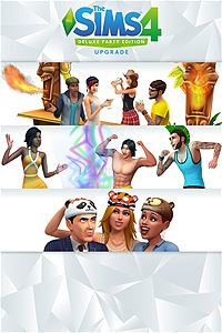 Microsoft The SIMS 4: Deluxe Party Upgrade Xbox One