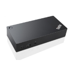 Lenovo 40A90090UK USB 3.0 (3.1 Gen 1) Type-C Black notebook dock/port replicator