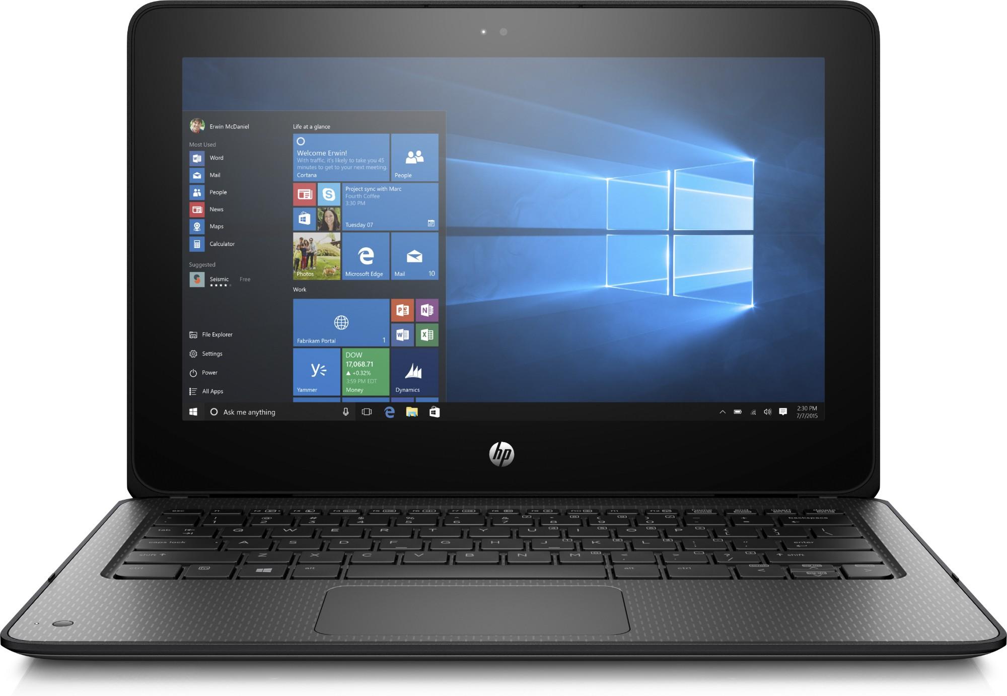 HP ProBook x360 11 G1 EE Black Notebook 29 5 cm (11 6