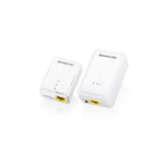 iogear GPLWEKIT 200Mbit/s Ethernet LAN connection Wi-Fi White 2pcs PowerLine network adapter
