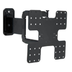 Sanus Super Slim VMF322 Mounting kit ( full motion wall mount ) for LCD / plasma panel black
