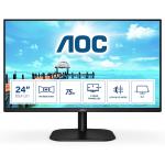 """AOC B2 24B2XH/EU LED display 60.5 cm (23.8"""") 1920 x 1080 pixels Full HD Black"""