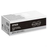 Epson C13S050711 (0710) Toner black, 2.5K pages, Pack qty 2