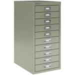 Bisley SoHo Multidrawers 10-drawer 51mm Drawer Height Goose Grey