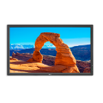 "NEC MultiSync V323-2 PG - 32"" full HD - Protective Glass - Public Display"