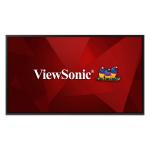"Viewsonic CDE4320 signage display 43"" IPS 4K Ultra HD Digital signage flat panel Black Built-in processor"