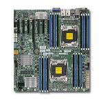 Supermicro X10DRH-C Intel C612 Socket R (LGA 2011) Extended ATX server/workstation motherboard