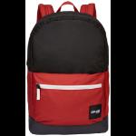 Case Logic Campus CCAM-1116 Black/Brick rugzak Zwart/Rood Polyester