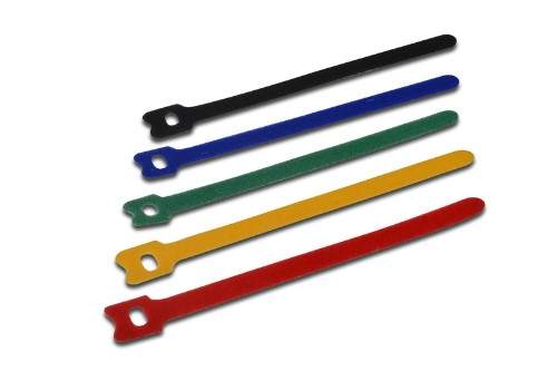 ASSMANN Electronic AK-770904-150-M cable tie Parallel entry cable tie Fabric Multicolor 50 pc(s)
