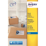 Avery J8165-25 addressing label