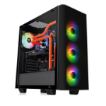 Thermaltake View 21 TG RGB Plus Midi-Tower Black