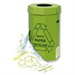 ACORN Green Bin for Recycling Waste Capacity 60 Litres Ref 402565 [Pack 5]