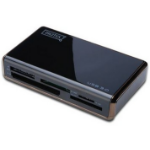Digitus DA-70330 USB 3.0 Black card reader