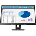 "HP VH27 27"" Full HD LED Flat Black computer monitor"