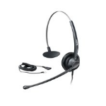 Yealink YHS33 Monaural Head-band Black headset