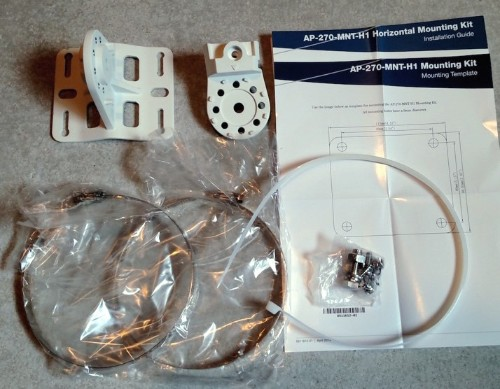 Aruba, a Hewlett Packard Enterprise company 270 Series Outdoor AP Hanging Mount Kit
