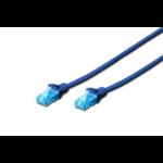 Digitus Cat5e, 0.5m networking cable U/UTP (UTP)